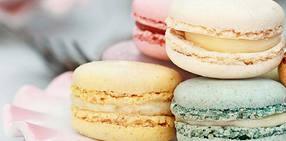 French desserts macaron