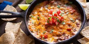 Chipotle queso and chorizo