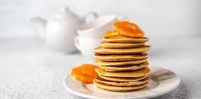 Tangerinepankcakes